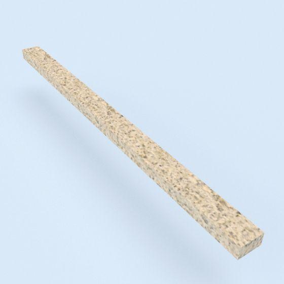 Spaanplaatveer 1000 mm lang ten behoeve van koppeling wandpanelen onderling.