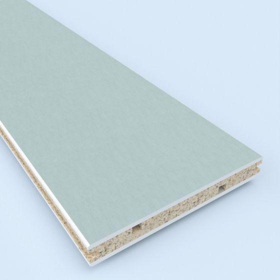 Handzame en duurzame scheidingswand geschikt voor toepassing in natte ruimten.